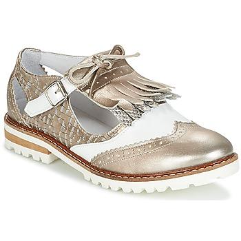 Schuhe Damen Derby-Schuhe Regard RETAZO Bronze