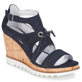 Schuhe Damen Sandalen / Sandaletten Regard RYACAS Blau