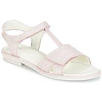 Schuhe Mädchen Sandalen / Sandaletten Geox J S.GIGLIO A Rose