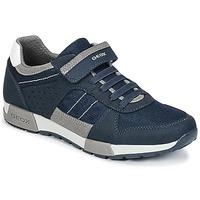 Schuhe Jungen Sneaker Low Geox J ALFIER B. A Marine / Grau