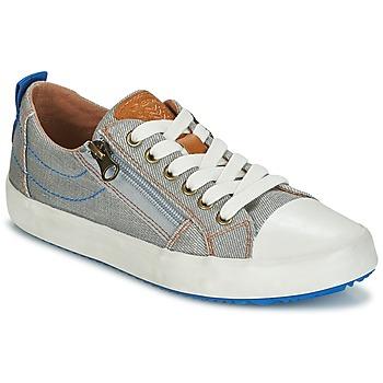 Schuhe Jungen Sneaker Low Geox J ALONISSO B. D Grau / Blau
