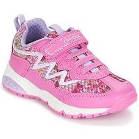 Schuhe Mädchen Sneaker Low Geox J BERNIE G. A Rose / Malvenfarben / Weiss
