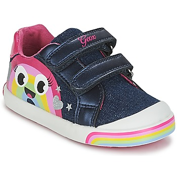 Schuhe Mädchen Sneaker Low Geox B KILWI G. C Rose