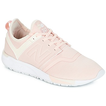 Schuhe Damen Sneaker Low New Balance WRL247 Rose