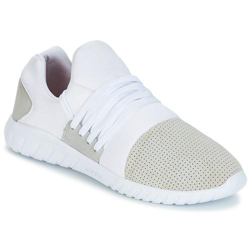 Asfvlt AREA LUX Weiss Weiss Weiss / Grau  Schuhe Sneaker Low Herren 347b10