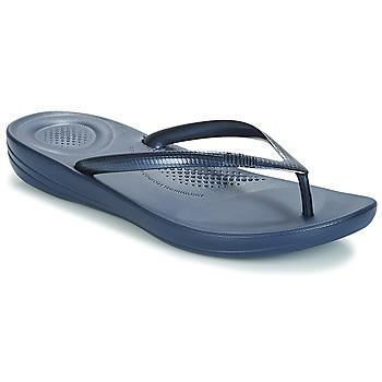 Schuhe Damen Zehensandalen FitFlop IQUSHION ERGONOMIC FLIP-FLOPS Navy