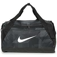 Taschen Sporttaschen Nike BRASILIA SMALL Schwarz / Weiss