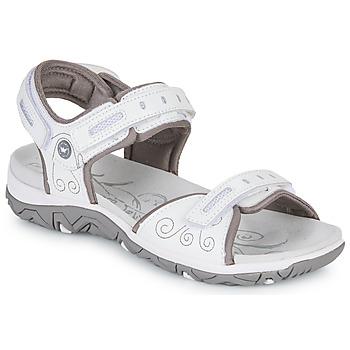 Schuhe Damen Sportliche Sandalen Allrounder by Mephisto LAGOONA Weiss
