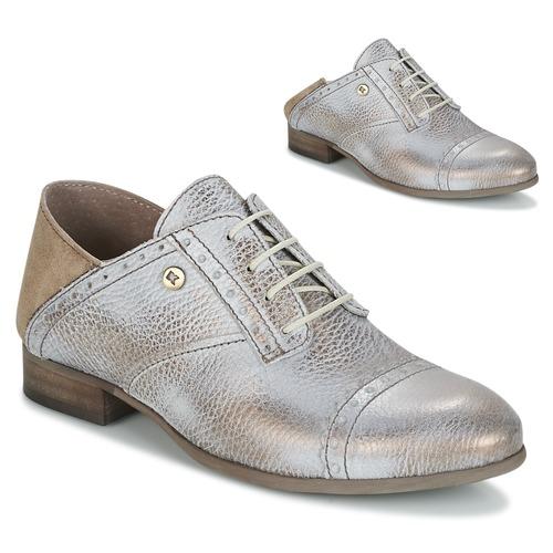 Schuhe Damen Derby-Schuhe Dkode ALBA Silbern