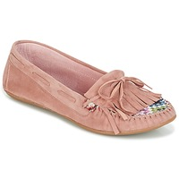 Schuhe Damen Slipper Ippon Vintage MOC-WAX-ROSE Rose