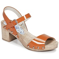 Schuhe Damen Sandalen / Sandaletten Ippon Vintage SOK COLORS Orange