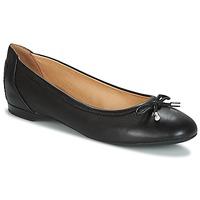 Schuhe Damen Ballerinas Geox LAMULAY Schwarz