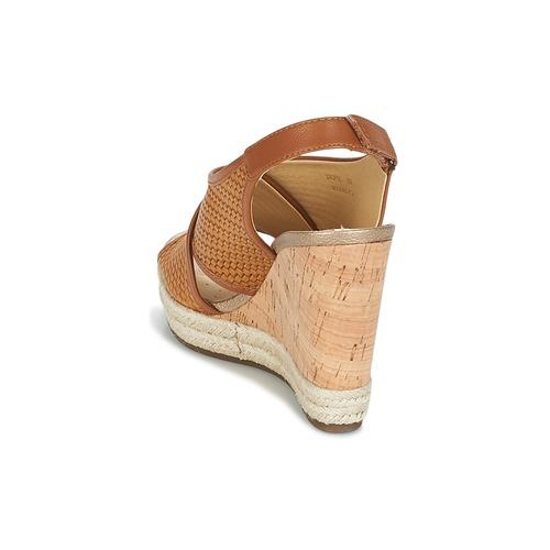 Geox JANIRA C Braun  Damen Schuhe Sandalen / Sandaletten Damen  87,20 904b5f
