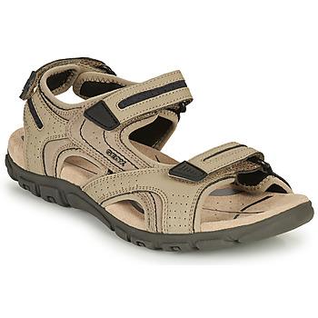 Schuhe Herren Sandalen / Sandaletten Geox S.STRADA D Marine