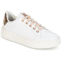 Schuhe Damen Sneaker Low Geox D NHENBUS A Weiss