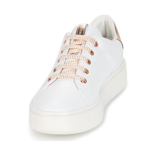 Geox Schuhe D NHENBUS A Weiss  Schuhe Geox Sneaker Low Damen 92 e779d8