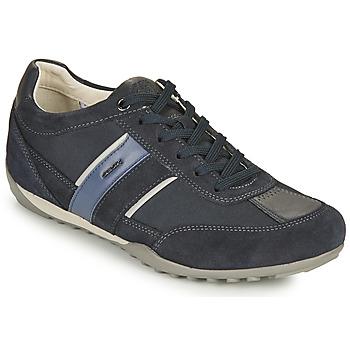 Schuhe Herren Sneaker Low Geox U WELLS C Blau