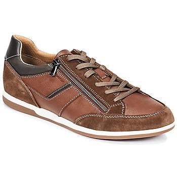 Schuhe Herren Sneaker Low Geox U RENAN C Braun