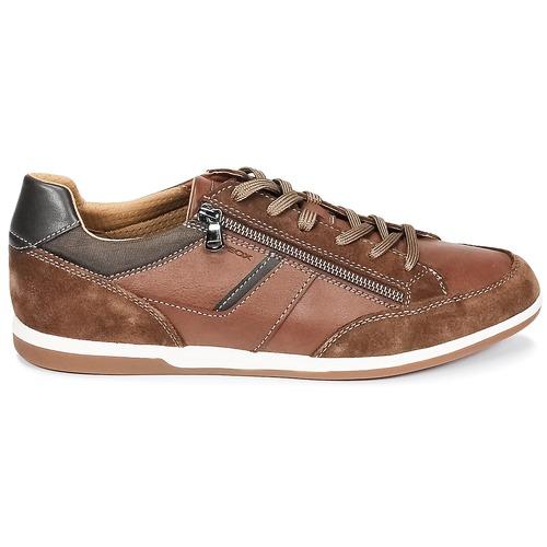 Geox U RENAN C Braun  Schuhe Sneaker Low Herren 79,99