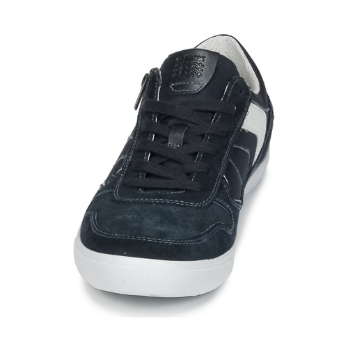 Geox U BOX C Blau  Schuhe Sneaker Low Herren 79,99