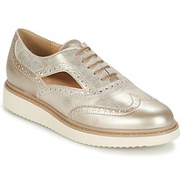 Schuhe Damen Derby-Schuhe Geox THYMAR A Beige / Maulwurf