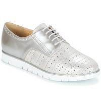 Schuhe Damen Derby-Schuhe Geox KOOKEAN Silbern