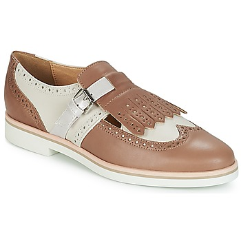 Schuhe Damen Derby-Schuhe Geox JANALEE B Weiss