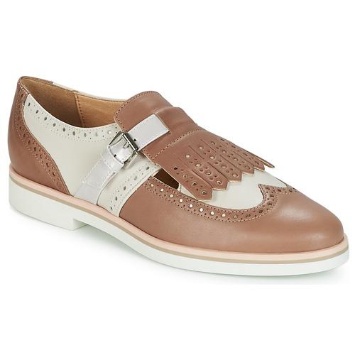 Geox JANALEE B Weiss  Schuhe Derby-Schuhe Damen 95,20