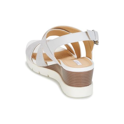 Geox Schuhe MARYKARMEN P.B Weiss Schuhe Geox Sandalen / Sandaletten Damen 76,30 9b7b2d