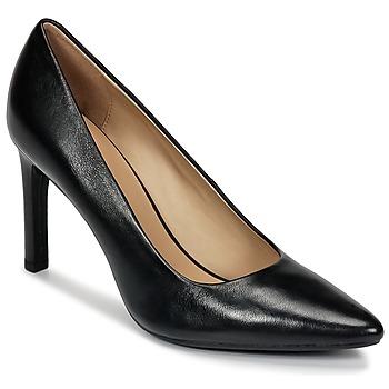 Schuhe Damen Pumps Geox FAVIOLA C Schwarz