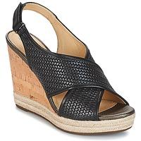 Schuhe Damen Sandalen / Sandaletten Geox JANIRA C Schwarz