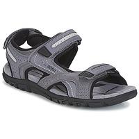 Schuhe Herren Sportliche Sandalen Geox S.STRADA D Grau