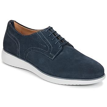 Schuhe Herren Derby-Schuhe Geox WINFRED A Marine