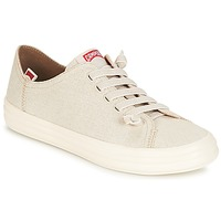 Schuhe Damen Sneaker Low Camper HOOP Creme