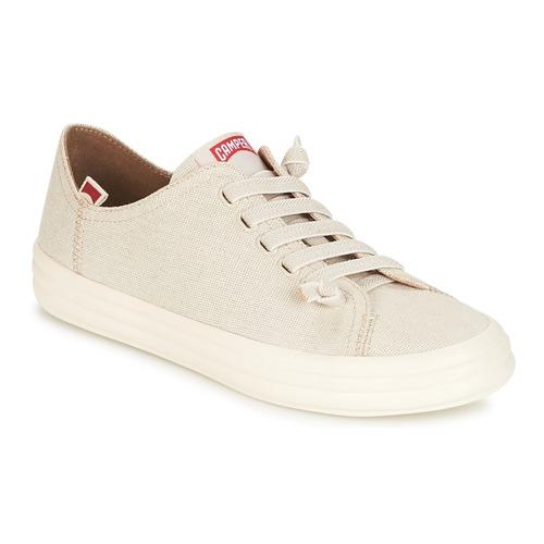 Camper HOOP Creme Schuhe Sneaker Low Damen 72