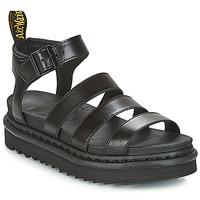 Schuhe Damen Sandalen / Sandaletten Dr Martens BLAIRE Schwarz
