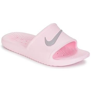 Schuhe Damen Pantoletten Nike KAWA SHOWER SANDAL W Rose / Grau