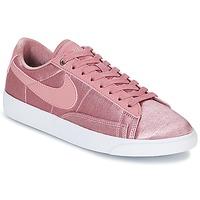 Schuhe Damen Sneaker Low Nike BLAZER LOW SE W Rose