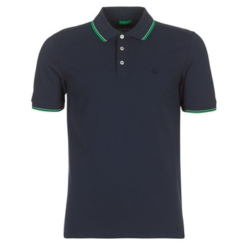Kleidung Herren Polohemden Benetton MADURI Marine
