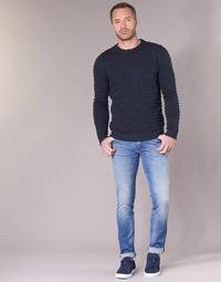 Kleidung Herren Slim Fit Jeans Sisley BURLUDU Blau
