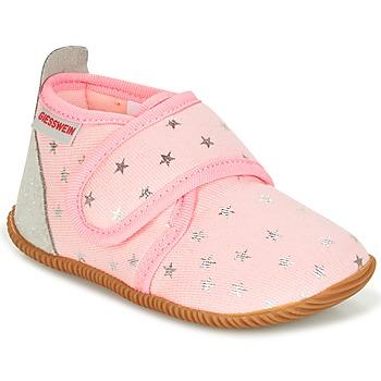 Schuhe Mädchen Hausschuhe Giesswein SALSACH Rose