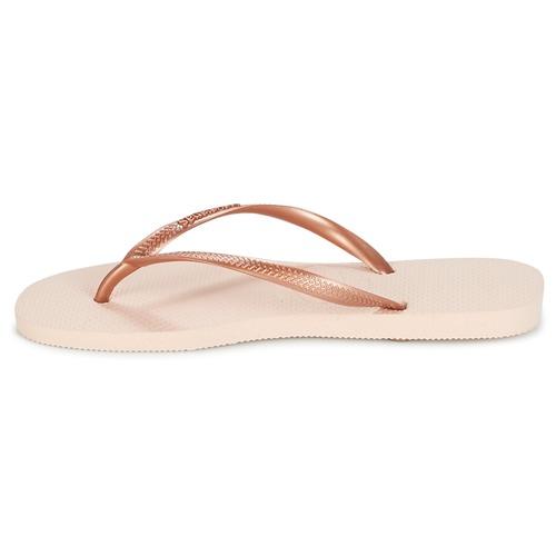 Havaianas Slim Rose / Gold - Kostenloser Versand | Schuhe Zehensandalen Damen 2599