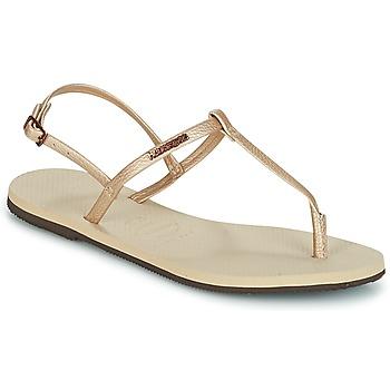 Schuhe Damen Sandalen / Sandaletten Havaianas YOU RIVIERA Beige