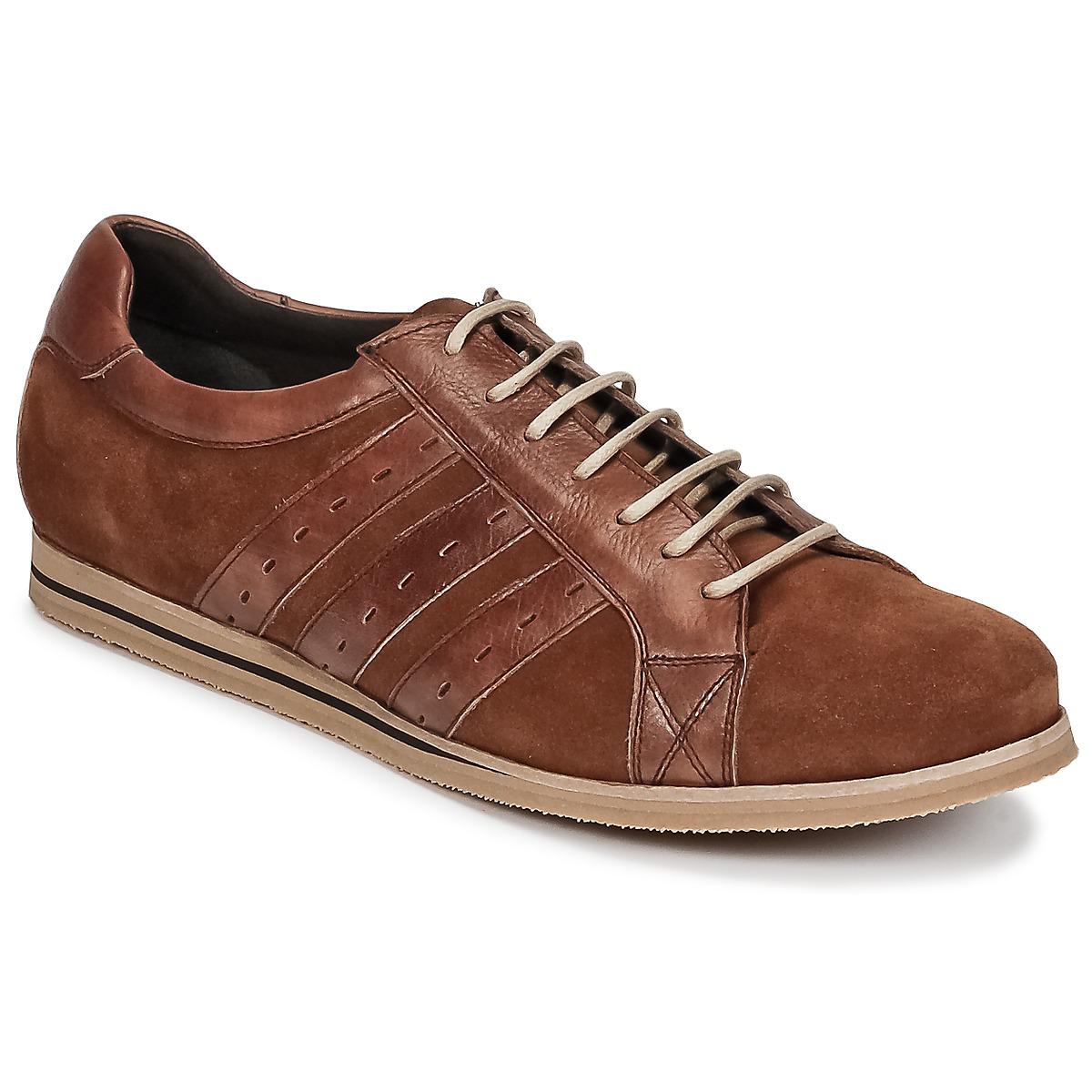 So Size GOPINETTE Braun - Kostenloser Versand bei Spartoode ! - Schuhe Sneaker Low Herren 83,40 €