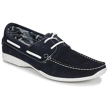 Schuhe Herren Bootsschuhe So Size ELIZA Marine