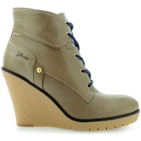 Schuhe Damen Low Boots Guess Eireen Shootie Ankle Boot Taupe