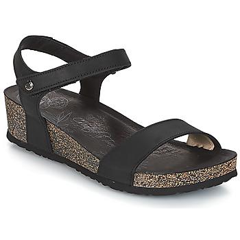 Schuhe Damen Sandalen / Sandaletten Panama Jack CAPRI Schwarz