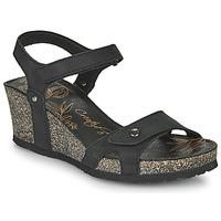 Schuhe Damen Sandalen / Sandaletten Panama Jack JULIA Schwarz