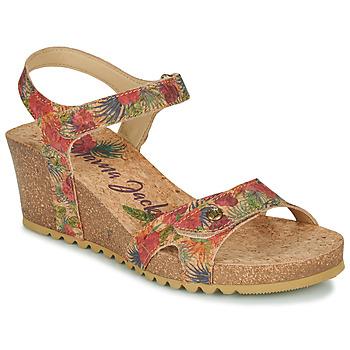 Schuhe Damen Sandalen / Sandaletten Panama Jack JULIA Rot