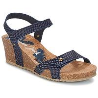 Schuhe Damen Sandalen / Sandaletten Panama Jack JULIA Marine